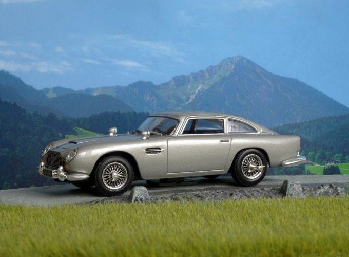 Aston Martin se pustil do výroby legendárního vozidla Jamese Bonda